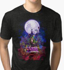 Majora's Mask 3D  Tri-blend T-Shirt