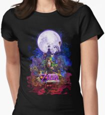 Majora's Mask 3D  Women's Fitted T-Shirt