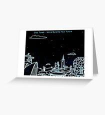 Epcot Spaceship Earth  Greeting Card