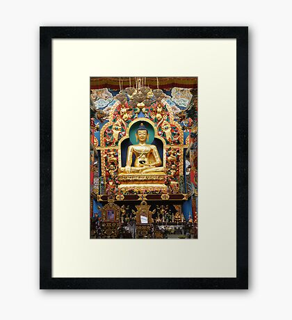 Buddha. India Framed Print