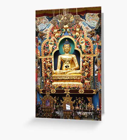Buddha. India Greeting Card