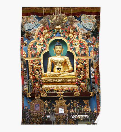 Buddha. India Poster