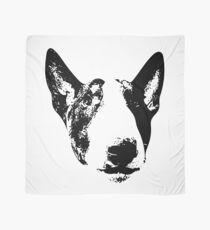 English Bull Terrier Face Scarf