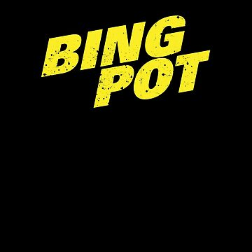 Brooklyn Nine Nine Bingpot Diagonal T Shirt by Clort