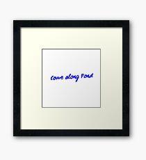Come Along Pond Framed Print