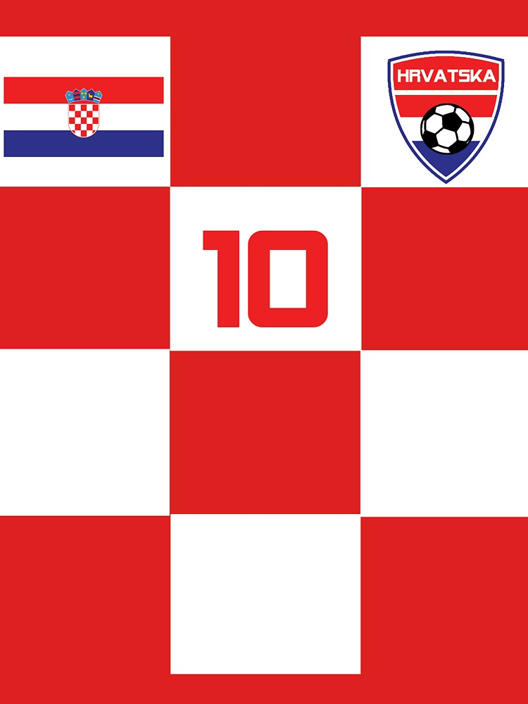 Croatia Jersey Soccer Football Shirt Red by 7United