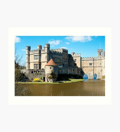 Leeds Castle: Kent UK Art Print