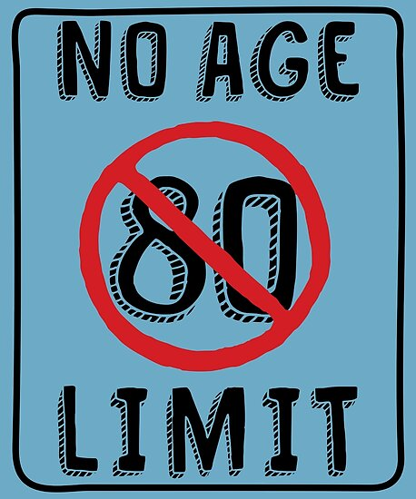 No Age Limit 80th Birthday Gifts Funny B Day For 80 Year Old By MemWear