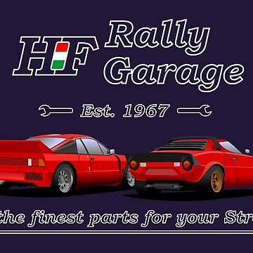 HF Rally Garage by 2fedex2