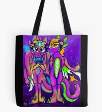 Let's fly to the stars DreamRays Tote Bag
