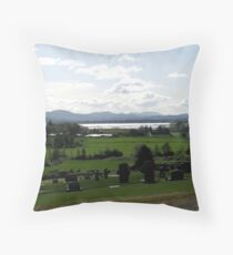 Historic Pioneer Cemetery Throw Pillow