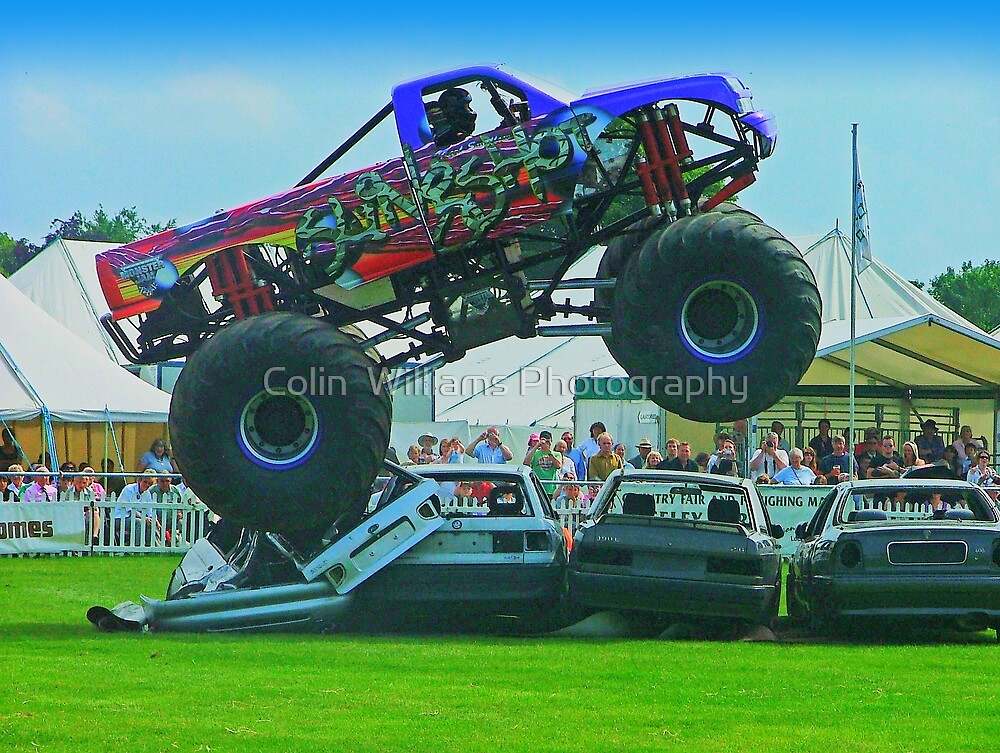 Monster Truck Madness - Surrey County Show - Guildford by Colin  Williams Photography
