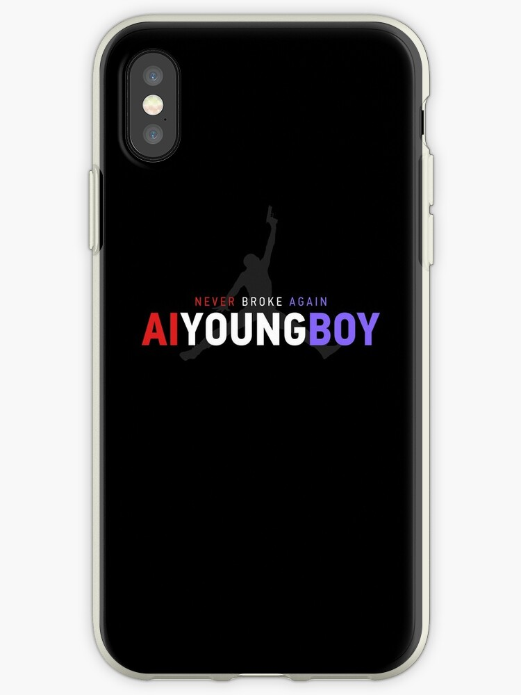 half off 9b00e 41cd5 'YoungBoy - Never broke again shirt' iPhone Case by AlexQ