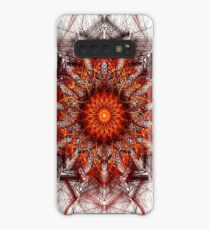 Scorching Sun - Abstract Fractal Artwork Case/Skin for Samsung Galaxy