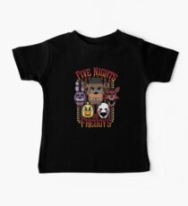 Five Nights At Freddy's Pizzeria Multi-Character Kids Clothes