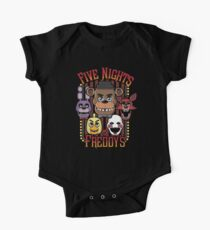 Five Nights At Freddy's Pizzeria Multi-Character One Piece - Short Sleeve