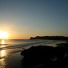 The Bay of Playa Colorados by Robert Gerard