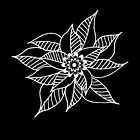 Black-&-White Flower by jnpdesign999