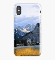 Alps In The Evening iPhone Case