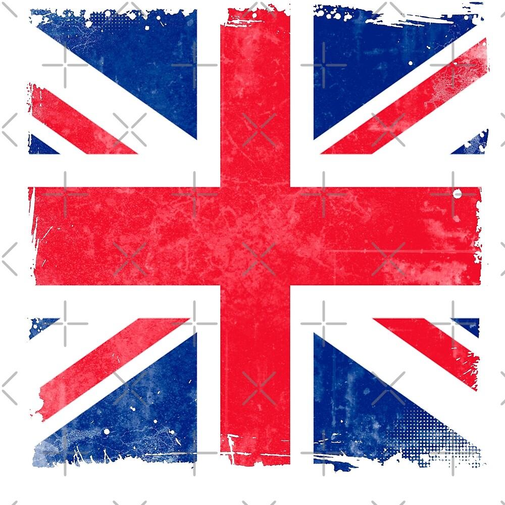 Britain British Union Jack National Flag Symbol Of Pride By Ice