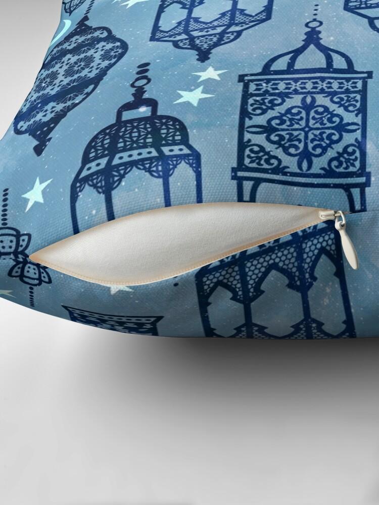 Alternate view of Marrakech nights light Throw Pillow