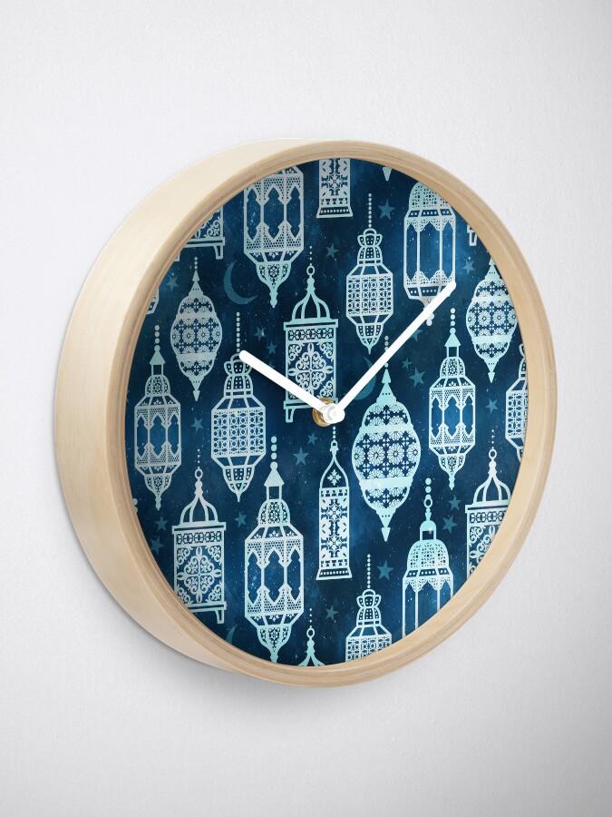 Alternate view of Marrakech nights Clock