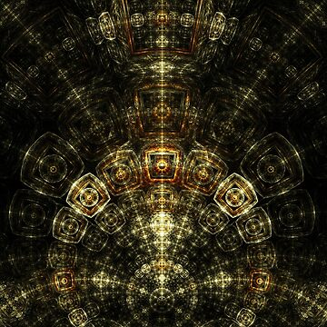 Matrix - Abstract Fractal Artwork by EliVokounova