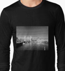 Amsterdam Train Station Long Sleeve T-Shirt