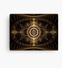 All Seeing Eye - Abstract Fractal Artwork Canvas Print