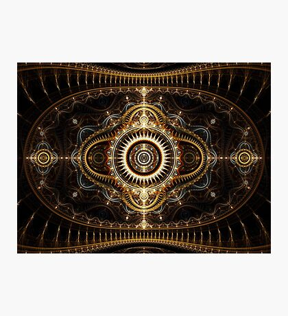All Seeing Eye - Abstract Fractal Artwork Photographic Print