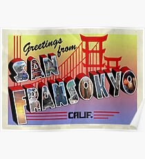 Greetings from San Fransokyo! Poster