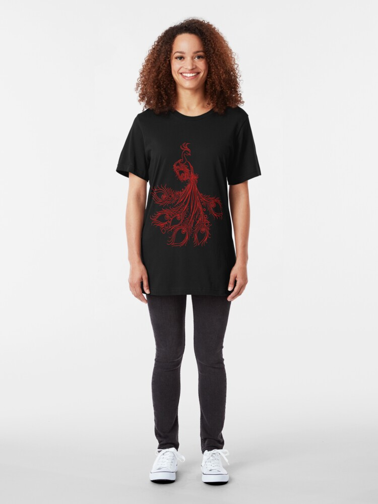 Alternate view of Bird's point of view Slim Fit T-Shirt