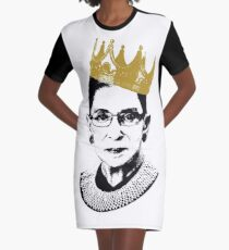Notorious RBG Graphic T-Shirt Dress