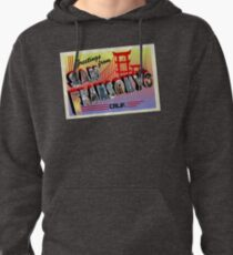 Greetings from San Fransokyo! Pullover Hoodie
