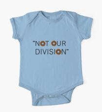 """Not our division."" - G. Lestrade One Piece - Short Sleeve"