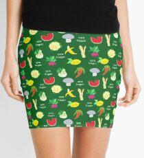 100% Vegan Mini Skirt