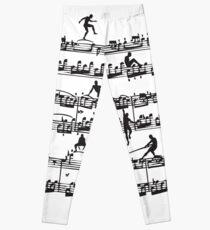 Mozart Men Leggings