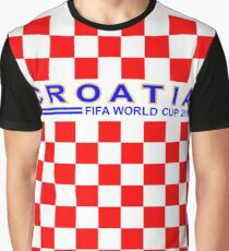 Croatia on FIFA World Cup 2018 jerseyide Graphic T-Shirt