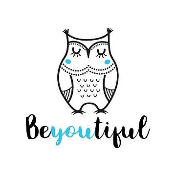 Inspiring Aesthetic Owl Design by warddt