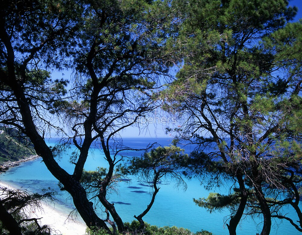 Turquoise Water by iOpeners