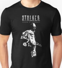 Stalker SOC White Slim Fit T-Shirt