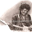 Mr Hendrix by Alleycatsgarden
