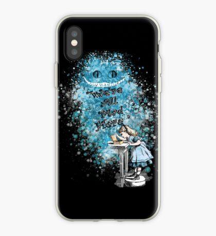 Alice Adventures In Wonderland Vinilo o funda para iPhone