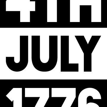 July 4, 1776 by qqqueiru