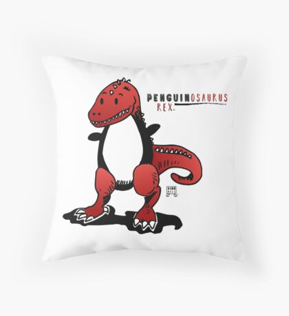 PENGUINOSAURUS REX™ Throw Pillow