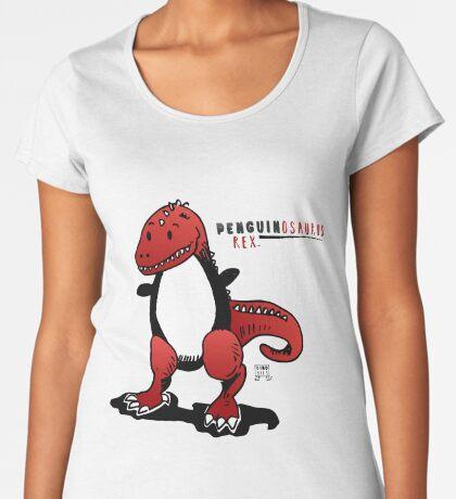 PENGUINOSAURUS REX™ Premium Scoop T-Shirt