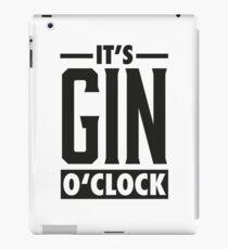 Gin o'clock / Gin  iPad Case/Skin
