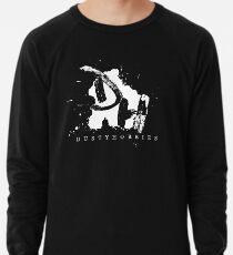 Dusty Hobbies Logo | White Lightweight Sweatshirt