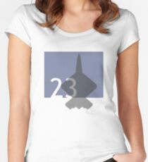 LOGO2301 Women's Fitted Scoop T-Shirt