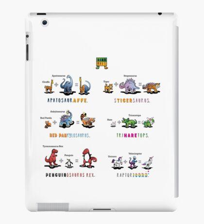 Dinomals Cheat Sheet! iPad Case/Skin